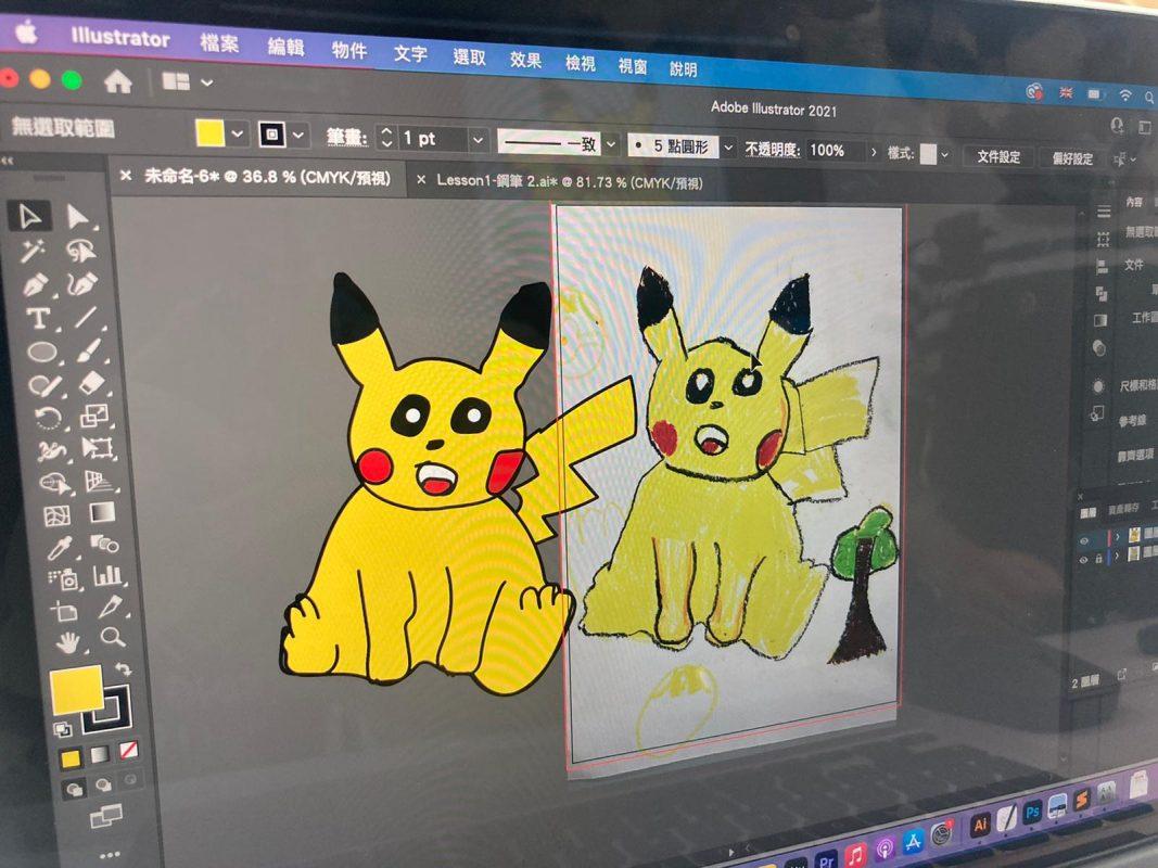 親子電腦繪畫班作品推薦