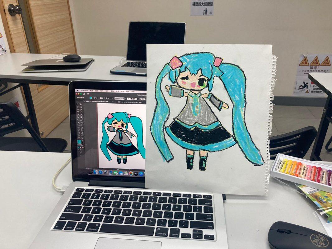 香港親子電腦繪畫班