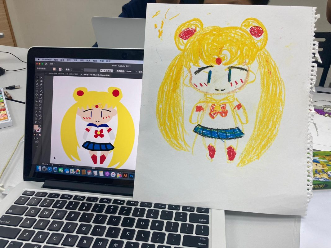 親子電腦繪畫班